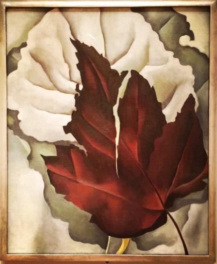 Georgia O'Keeffe, 1887-1986. Pattern of Leaves, 1924.