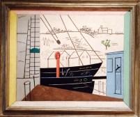 Stuart Davis, 1892-1964. Boats, 1930.