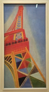 Robert Delaunay, La Tour Eiffel, 1926.