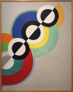 Robert Delaunay, Rythmes, 1934.