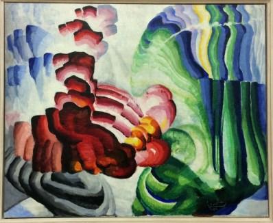 Frantisek Kupka, 1871-1957. Compliment, 1912.