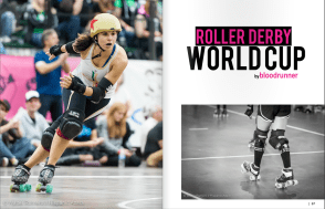 Girls Who Ride Mag Mundial Roller Derby January-March 2015 Eng1