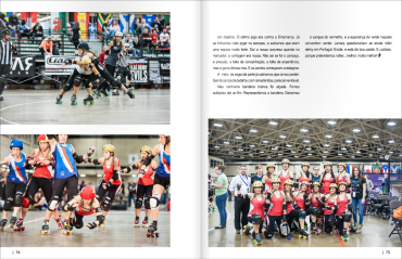 Girls Who Ride Mag Mundial Roller Derby January-March 2015 Por5