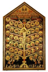 Tree of Life, by Pacino di Bonaguida, c. 1310, Galleria dell'Accademia