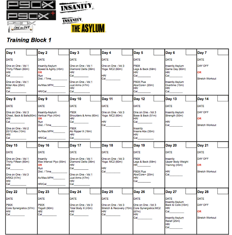 p90x2 workouts | Kayaworkout co