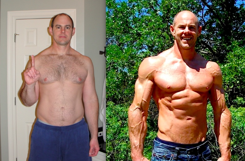 flash back - p90x2 results - coach wayne
