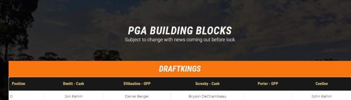 PGA Building Blocks