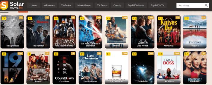 Solar Movie Stream Free Movies Online