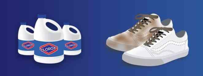 How to clean white vans with Bleach Powder