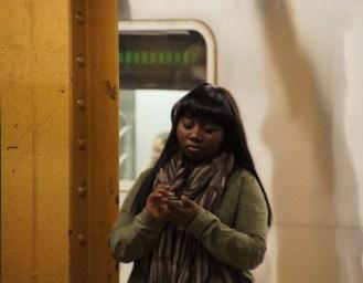 Szenen in der U-Bahn