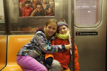 Scenen in der U-Bahn