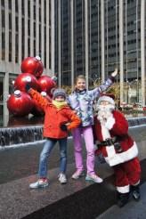 Wir machen Fotos und plötzlich ist Santa da...