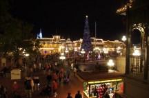 Main Street bei Nacht