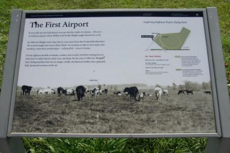 Der erste Flughafen der Welt