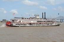 Die Natchez auf dem Mississippi