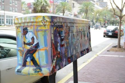 Street Car als Briefkasten