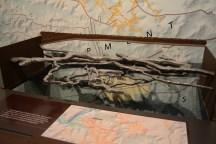 Modell der Höhle