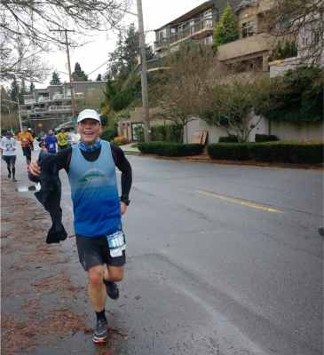 seattle marathon race report