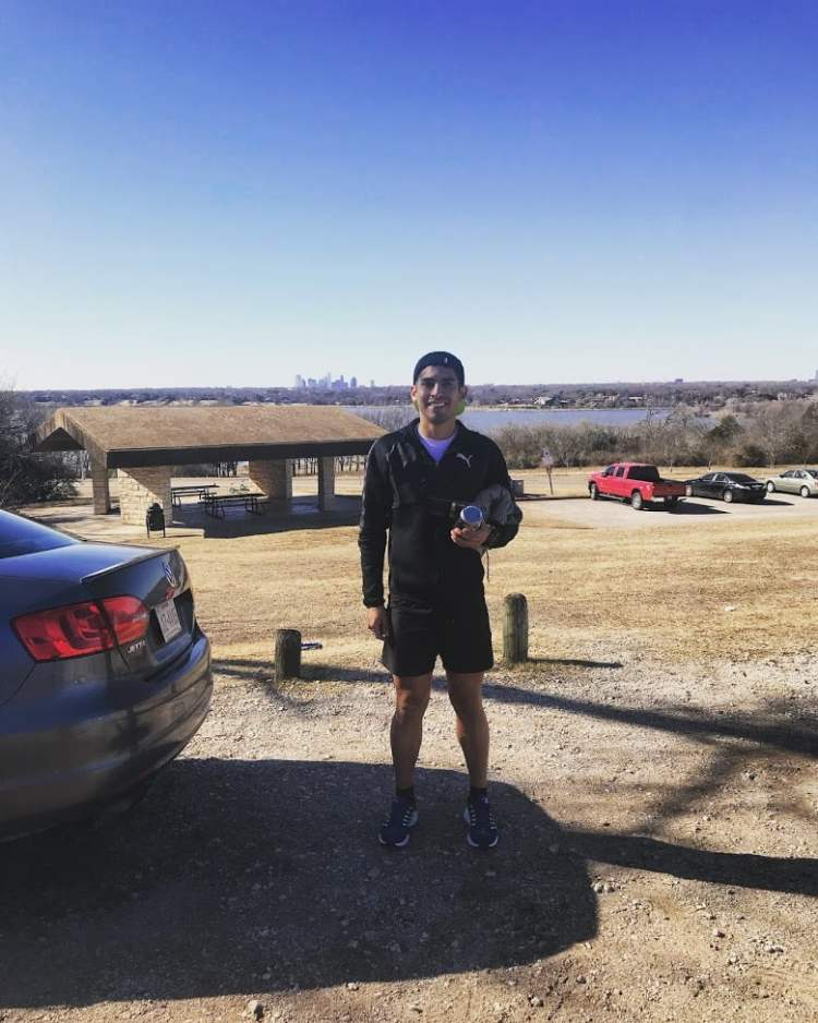 too cold to hold race report