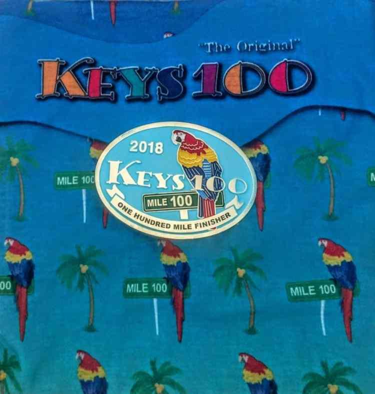 keys 100 race report