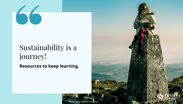 Sustainability and Positive Impact: How to keep learning