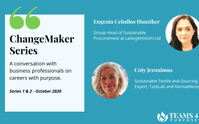 ChangeMaker Series: top 3 takeaways (October series)