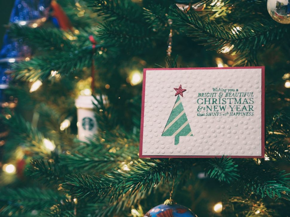 Christmas and New Year gift card