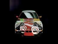 1995 BMW 850 CSi Art Car by David Hockney