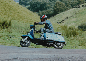 Tim Simpson - Scooter Racing Photography