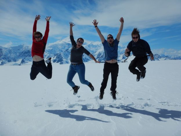 The Ice Fields jumping shot!