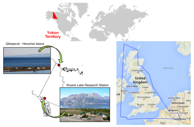 Map of the Yukon
