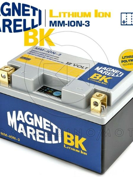 BATTERIA MAGNETI MARELLI LITIO MM-ION-3 YTZ10S-BS HONDA CBF 500 (PC39) 2004