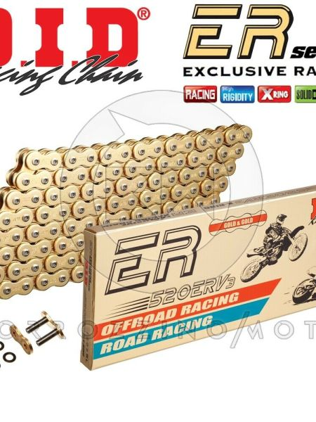 CATENA DID RACING 520ERV3 G&G GOLD M 116 X-RING YAMAHA YZF R1 1000 ANNO 2015