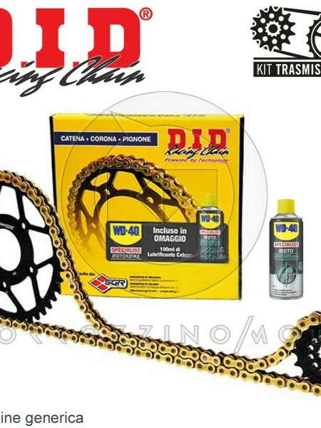 KIT TRASMISSIONE DID CATENA CORONA 44 HONDA CRF L AFRICA TWIN DCT 1000 2017 2018
