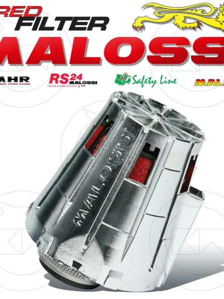 MALOSSI 042412.W0 FILTRO ARIA RED FILTER E5 Ø32 CARBURATORE DELL'ORTO PHBG 19