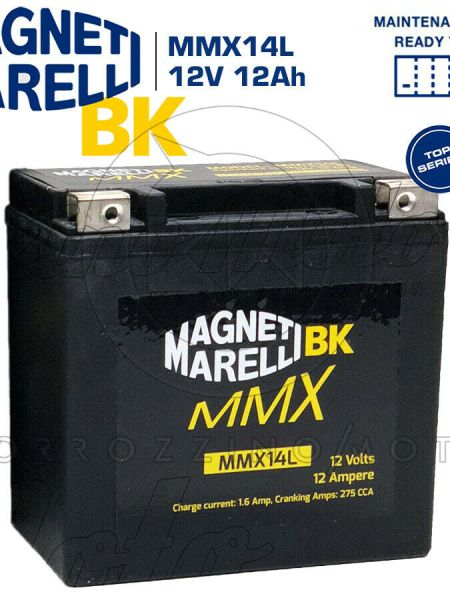 BATTERIA MAGNETI MARELLI MMX14L HARLEY DAVIDSON XLL 883 SPORTSTER LOW ANNO 2012