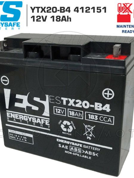 BATTERIA ENERGY SAFE 412151 12V 18Ah BMW R C Avantgarde (K74) 2003 2004 2005