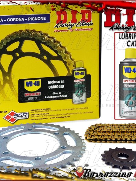 KIT TRASMISSIONE DID PROFESSIONAL KAWASAKI 125 BN Eliminator 1998 1999 2000 2001