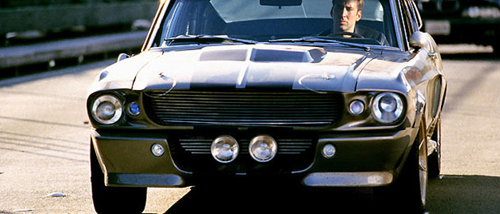 Gone In 60 Seconds - The famed Eleanor Movie Car To Go Under