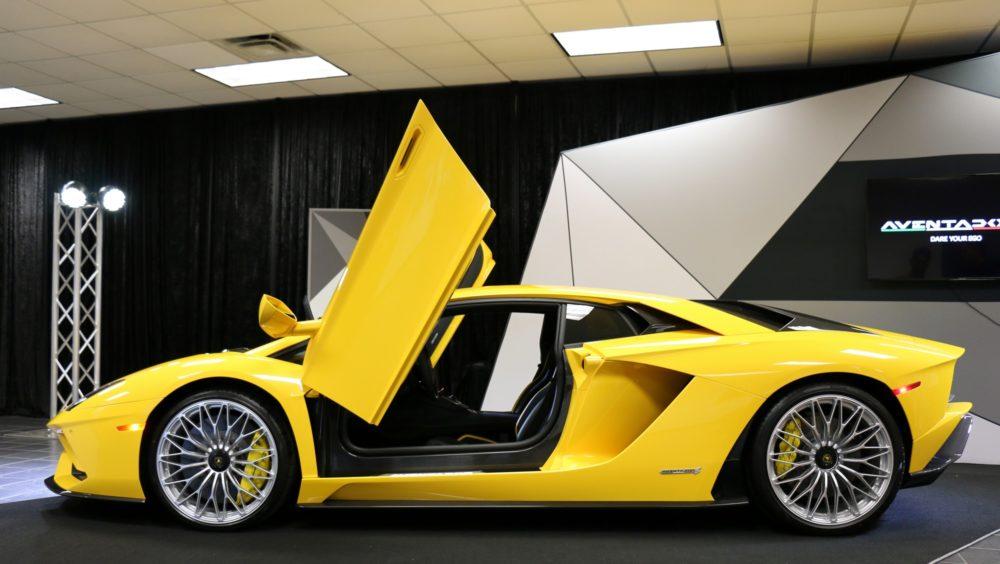Lamborghini Houston Unveils Aventador S Teamspeed