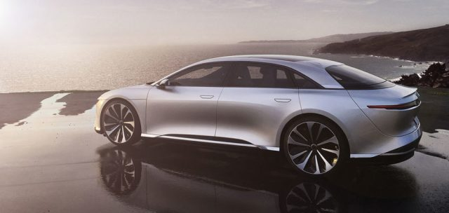 Lucid Air 235 mph electric luxury sedan