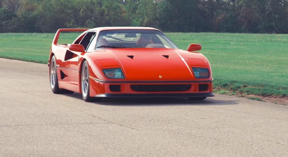 Cooper MacNeil's Ferrari F40