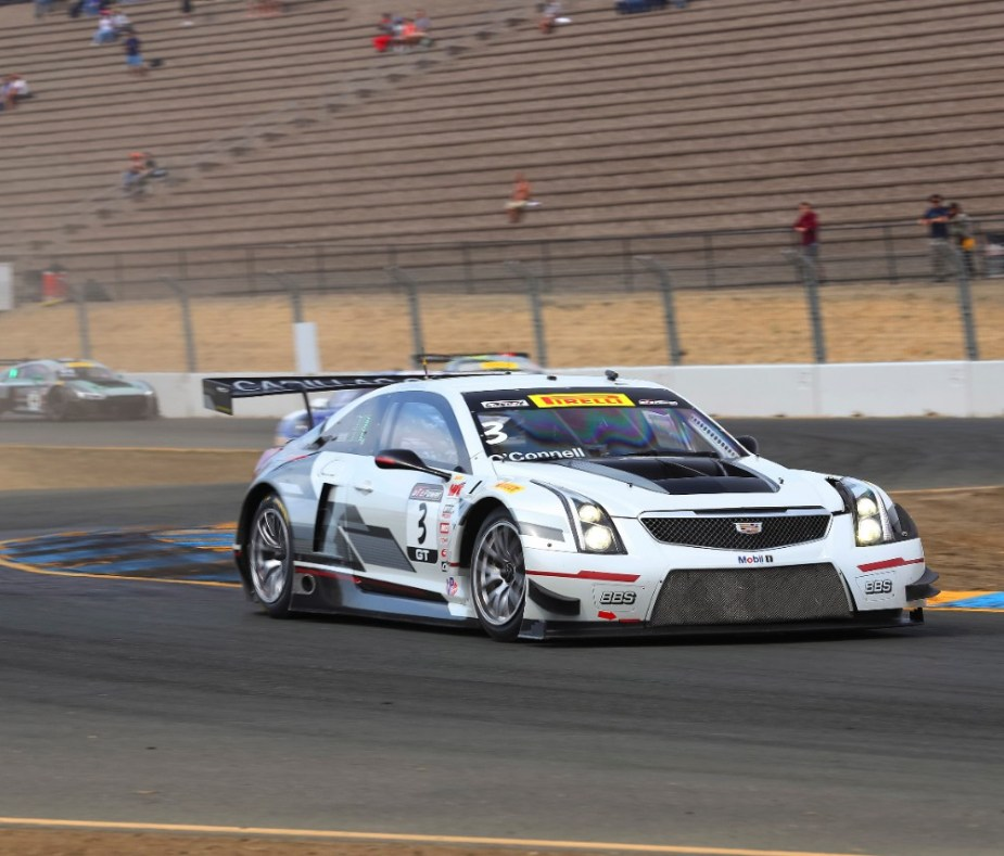 Cadillac CTS-V in GT-Class racing