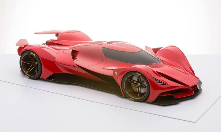Ferrari Le Mans Racer Rendering
