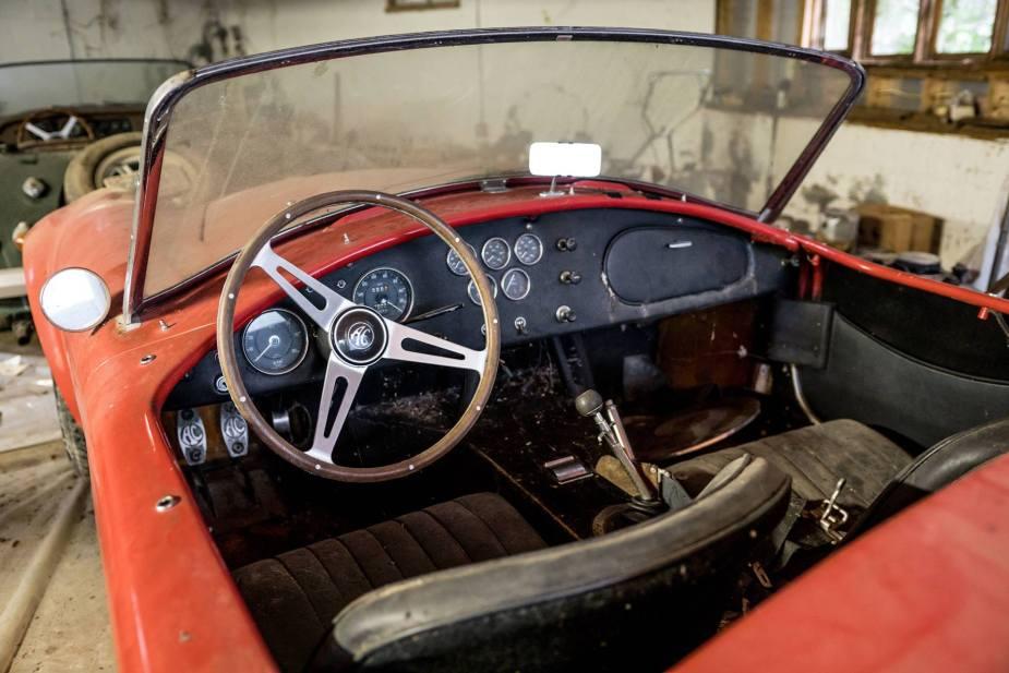 1966 Shelby Cobra 427 interior