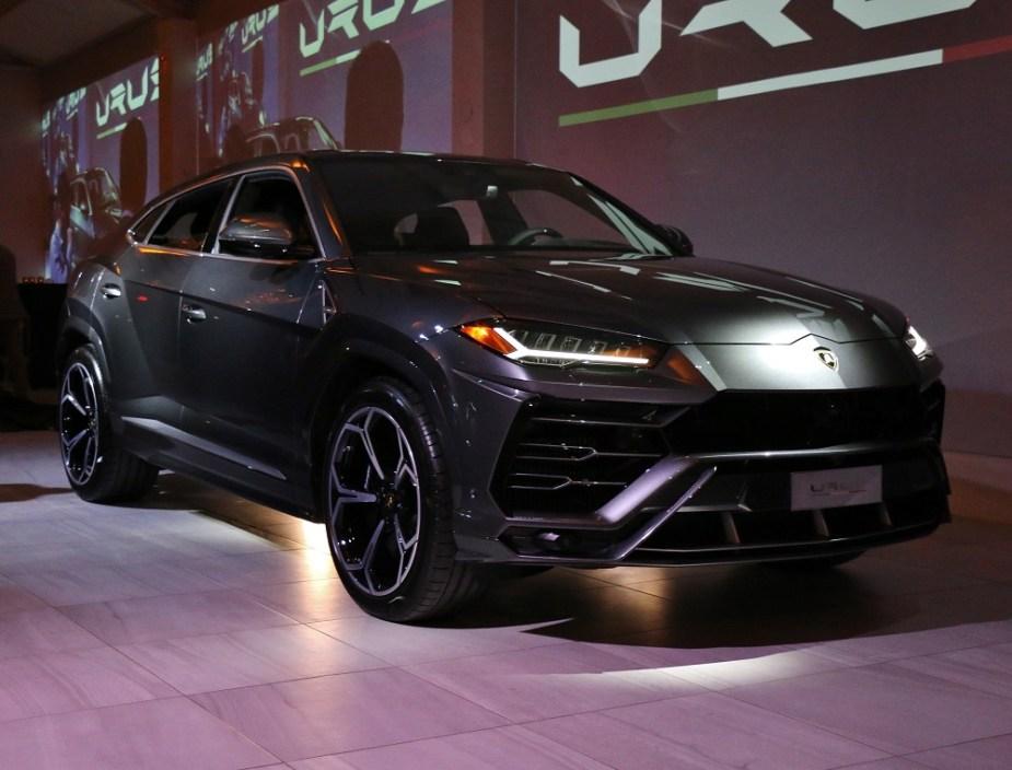 teamspeed.com Urus Reveal at Lamborghini Houston