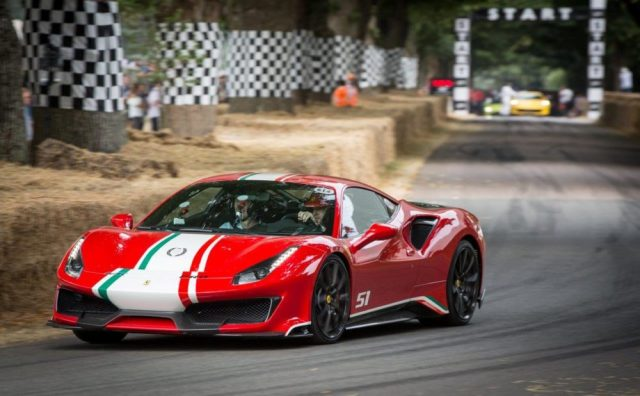 Ferrari Goodwood FXX K Evo 812 Superfast 488 Pista Portofino