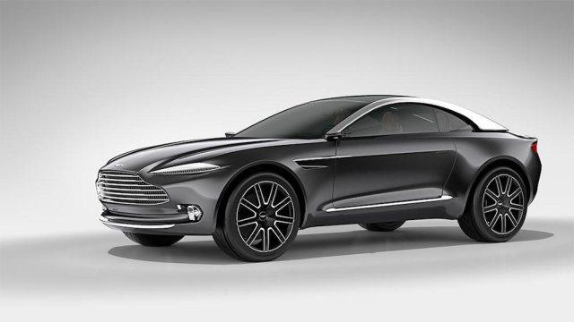 2015 Aston Martin DBX concept.