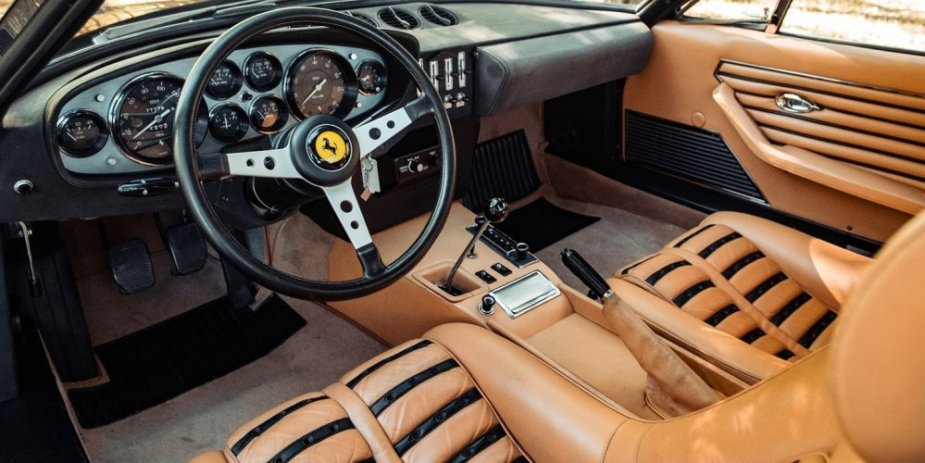 1972 Ferrari 365 GTB4 Daytona Berlinetta interior