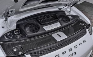 2015 Porsche 911 GT3 Carrera White Engine